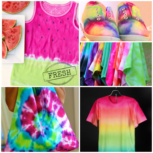 Awesome Tie Dye Projects For Summer Fun