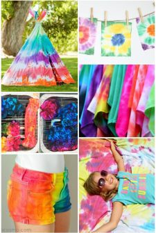 16 Awesome Tie Dye Projects for Summer