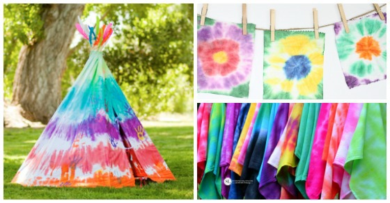 16 Awesome Tie Dye Projects for