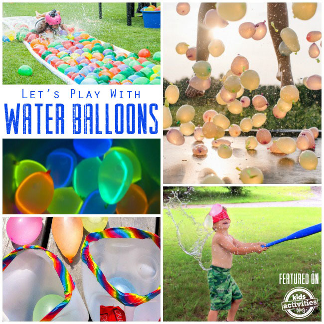 Water Balloon Play Ideas for Summer Fun