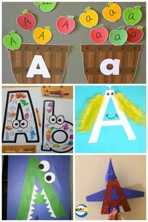 12 Letter A Activities
