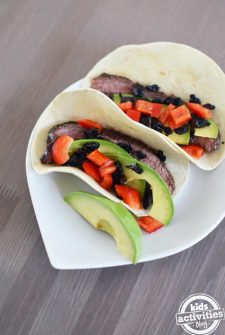 Summer Flank Steak Wraps