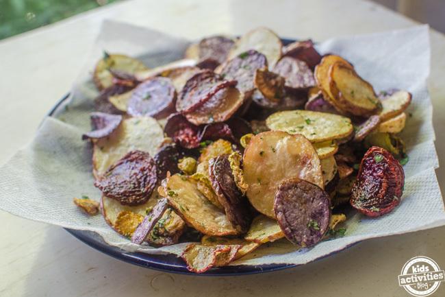 homemade chips 6