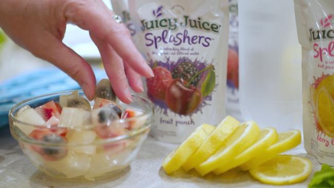 juicy juice fish ice cubes