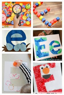 12 Letter E Activities