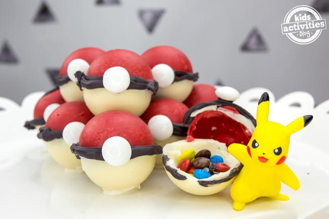 Pokémon Bonbons Pokeballs