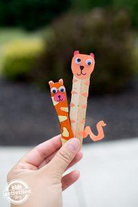 Craft Stick Tigers