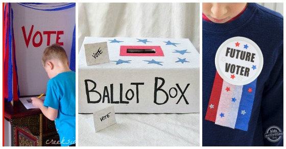 Election Crafts For Kids