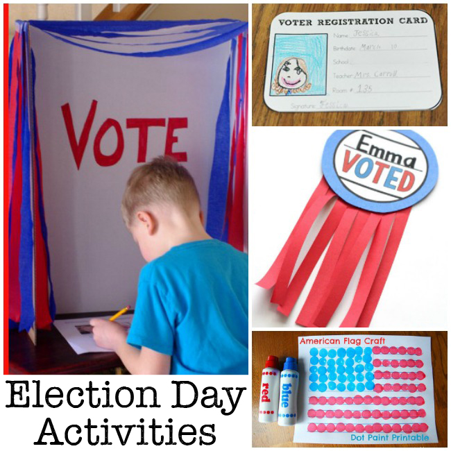Kid Election Day Craft