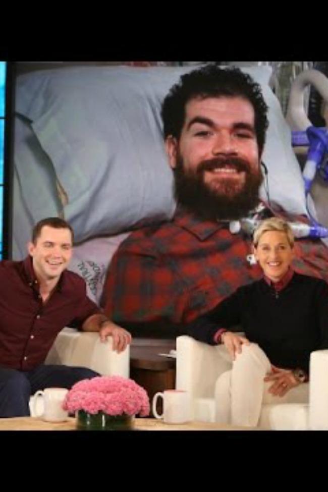 Ellen features unusual friendship