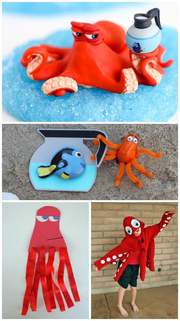 15 Finding Dory Hank the Septopus Crafts
