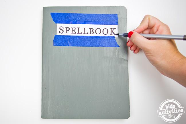 Harry Potter Spellbook Journal