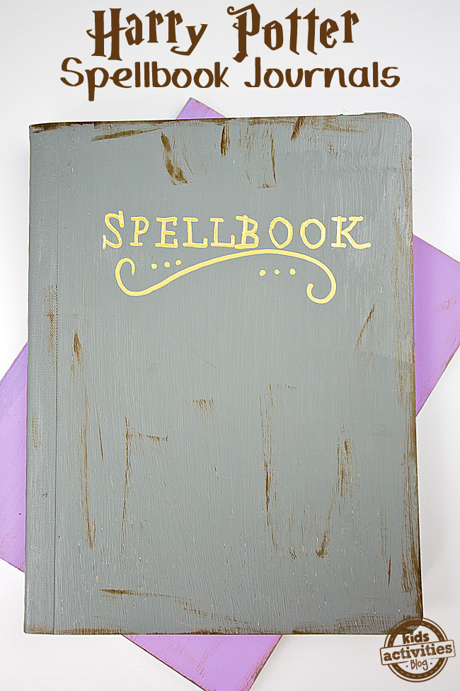 Harry Potter Spellbook Journals