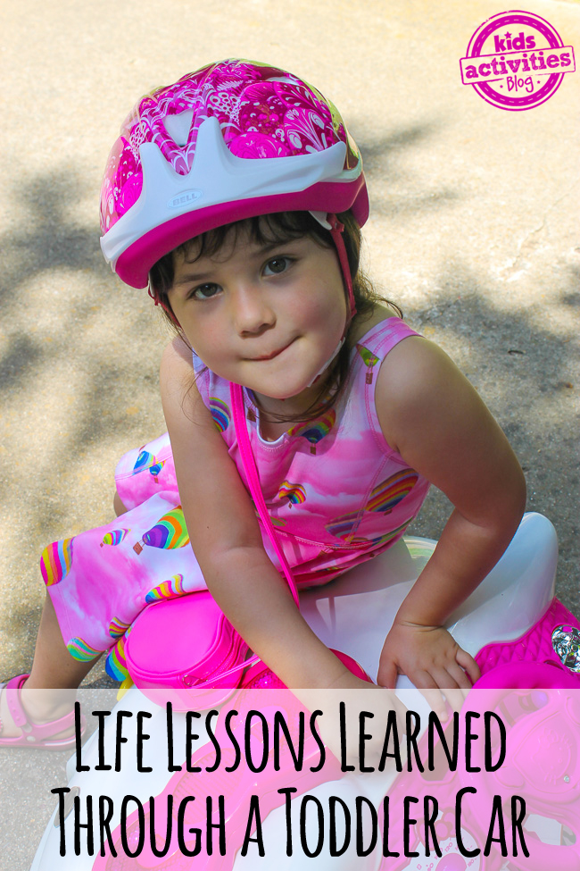 Life Lessons Learned Through a Toddler Car