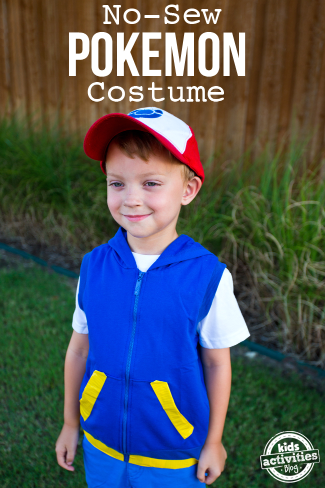 No Sew Pokemon Costume