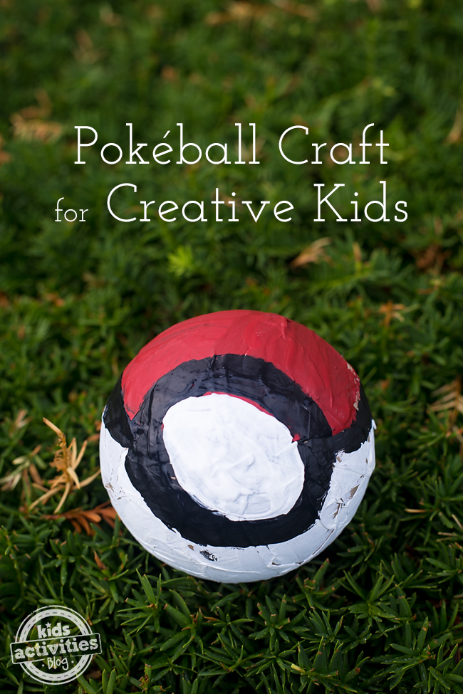 Pokéball Craft for Creative Kids