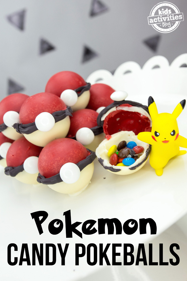 Pokémon Candy Pokeballs by Kids Activities Blog