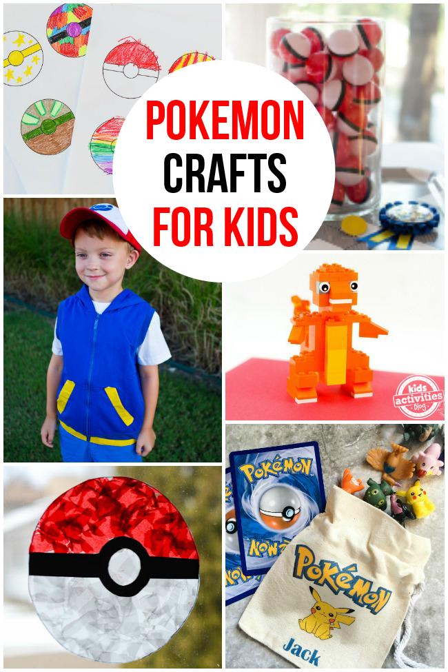 Pokemon Crafts for Kids