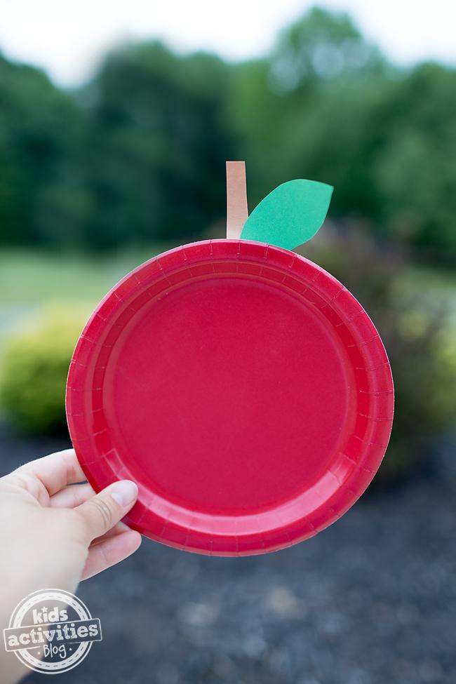 paperplate apple