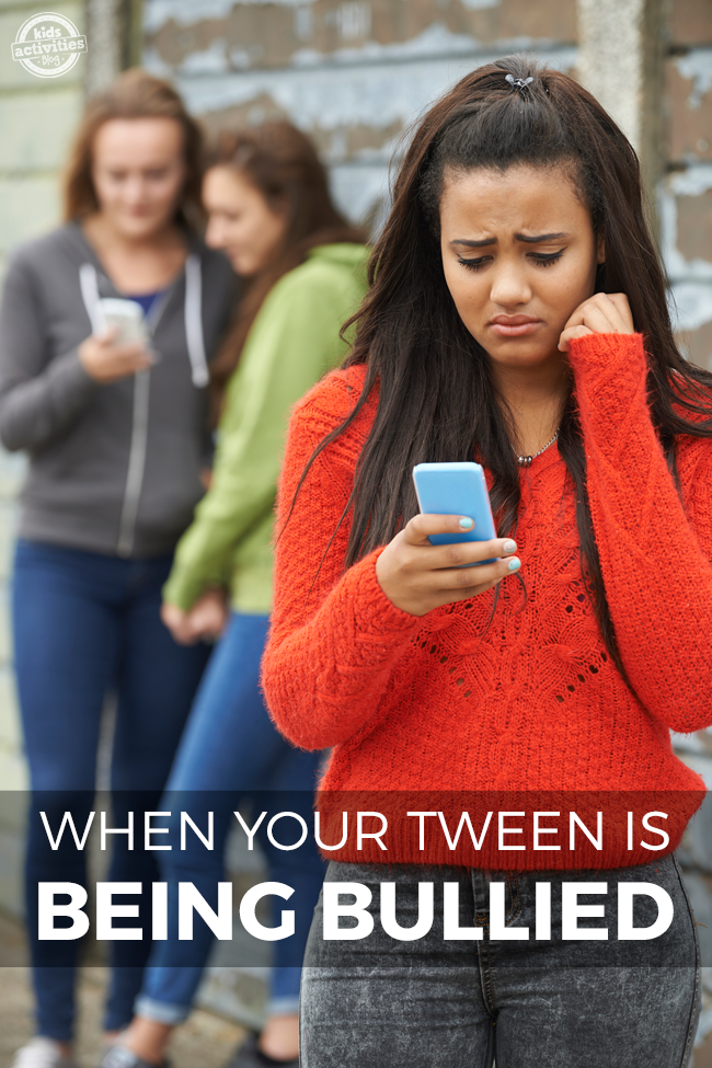 When your tween is being bullied