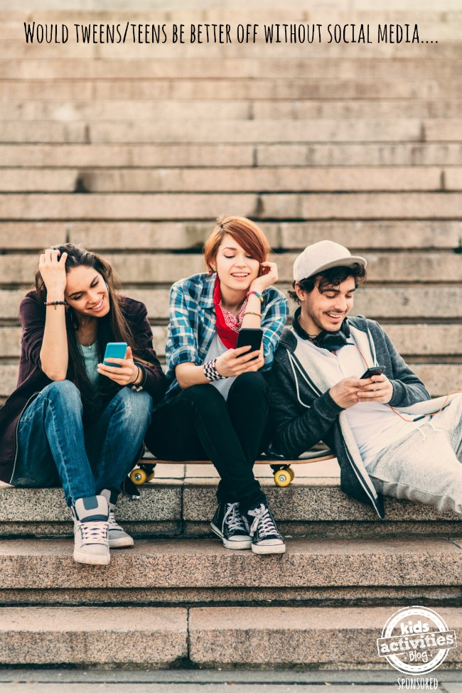 would tweens be better off without social media