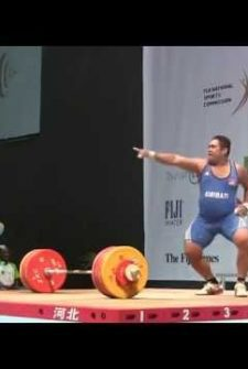 This Weightlifter Shows, Whether You Win Or Lose You Should Always Have Fun