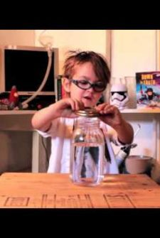 Oliver's Science Lab Teaches You How To Make A Tornado In A Jar!
