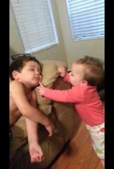 Baby Sister Wakes Up Brother, And You Will Love His Reaction!