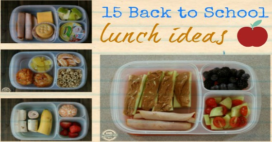 15 Back To School Lunch Ideas
