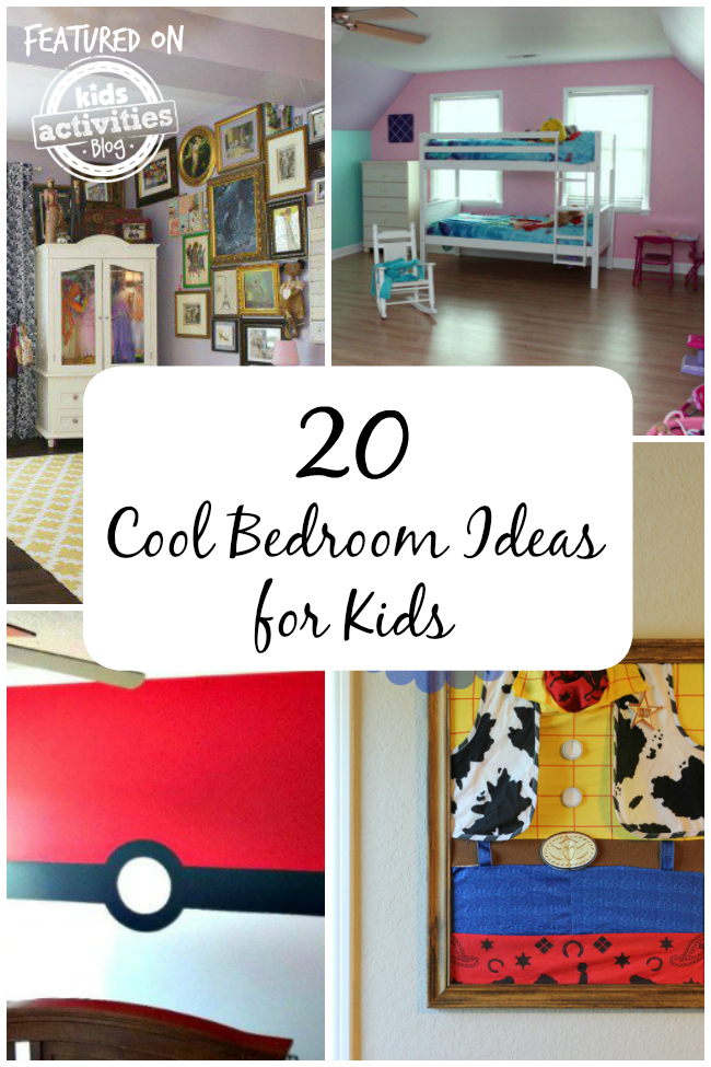 20 cool bedroom ideas for kids
