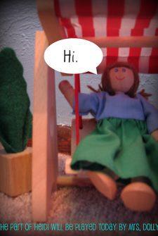 "It is not me, it is Heidi ""LINK HERE NOW!"