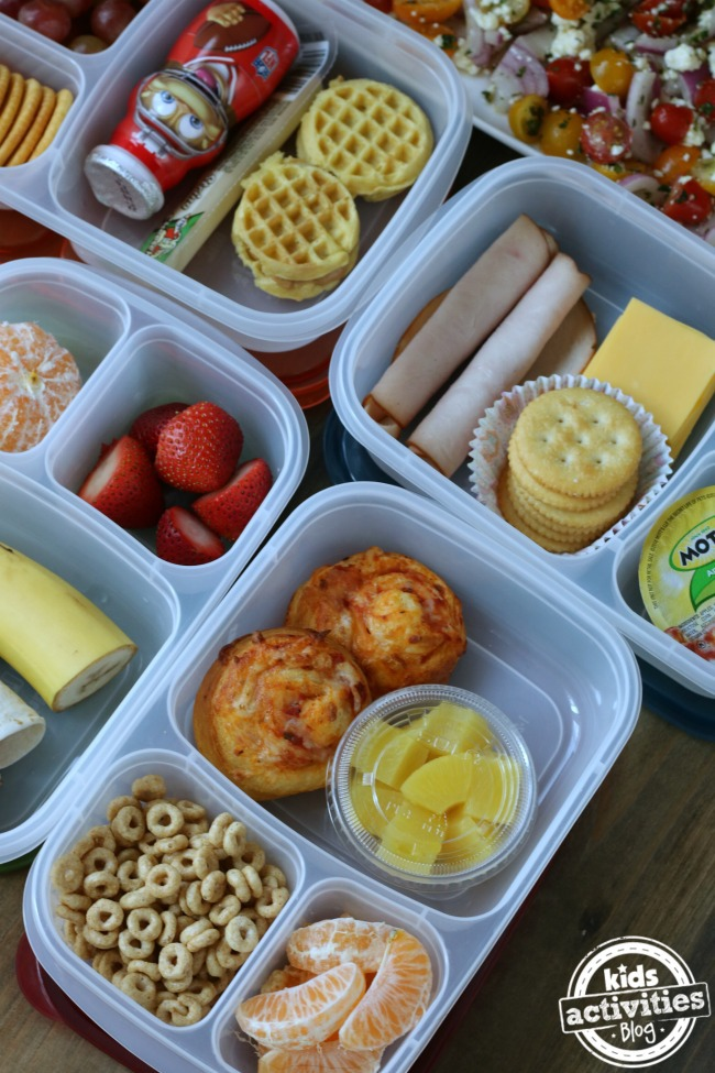 5 Back to School Lunch Ideas for