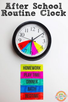 After-School-Routine-Clock