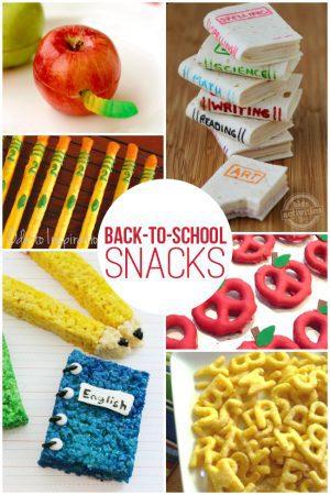 Back-to-School Snacks