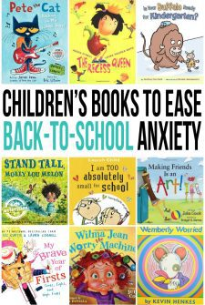 Books to Ease Back to School Jitters