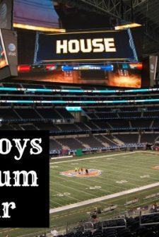 Cowboys Stadium Tours