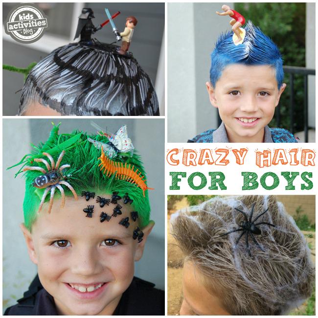 """"""" \""""Crazy Hair Ideas for Boys\"""""""""""