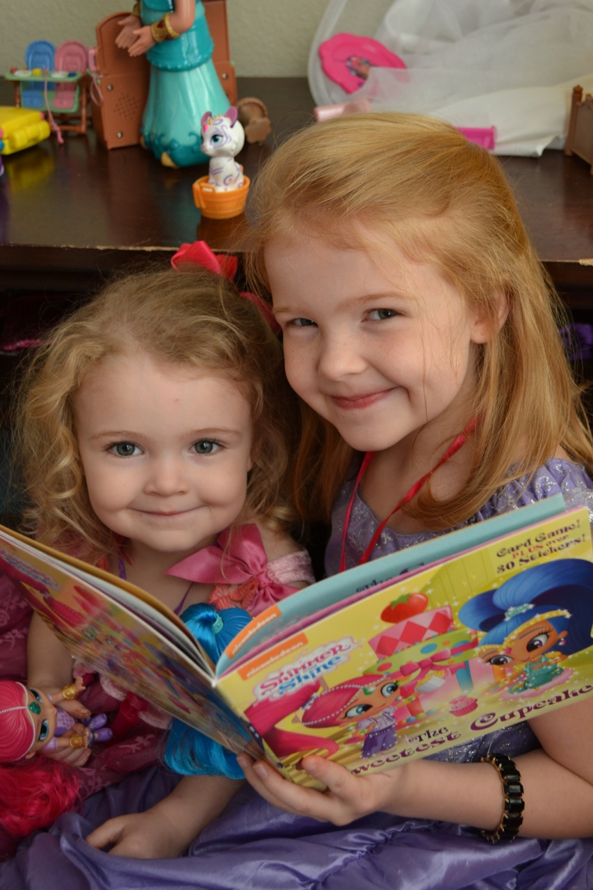 Shimmer and Shine Story Time