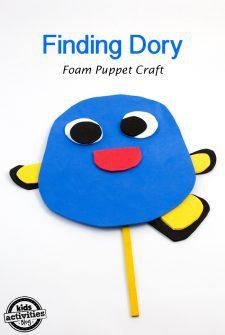 Finding Dory Foam Puppet