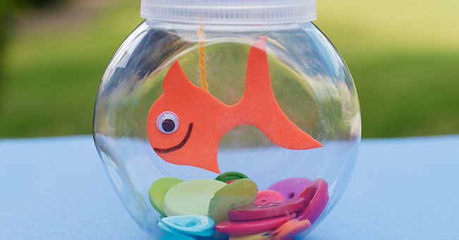 Mini Fishbowl Craft For Kids