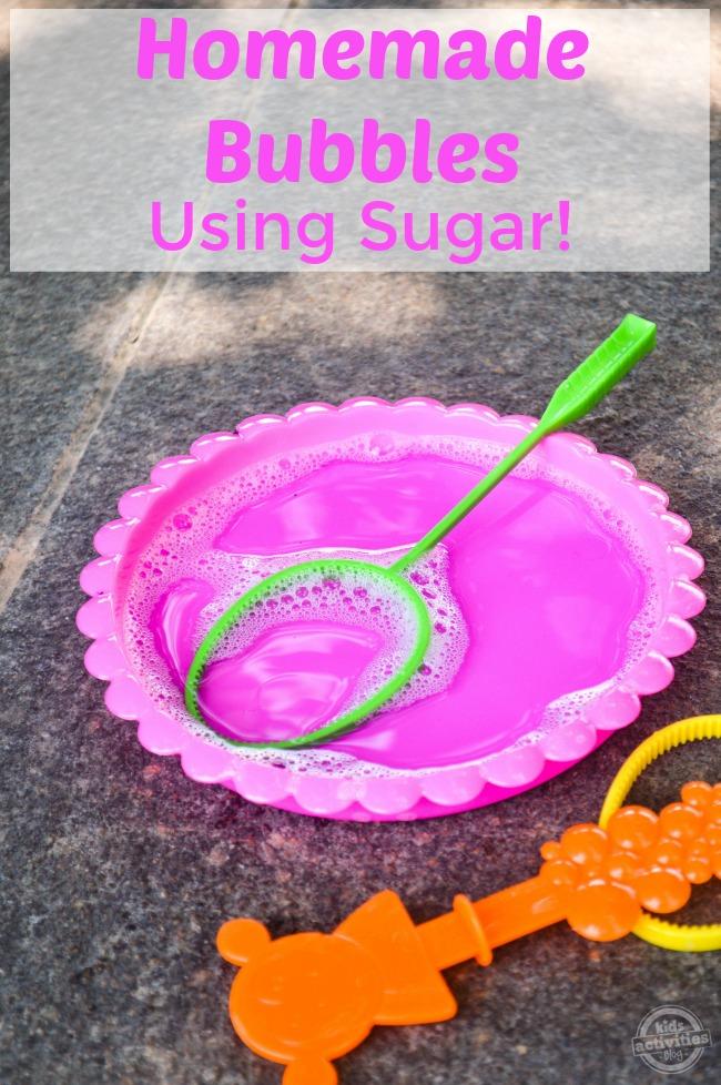 Homemade Bubbles Using Sugar2