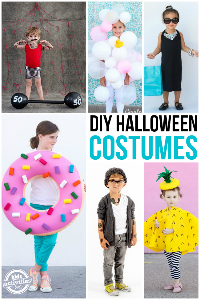 Homemade halloween costumes for Creative halloween costumes for kids