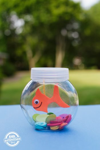 Mini Fishbowl Craft
