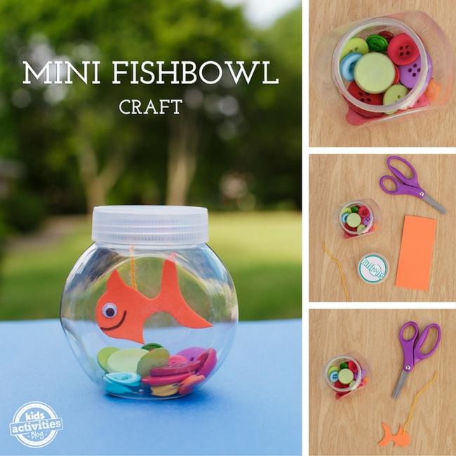 Mini Fishbowl Craft-2