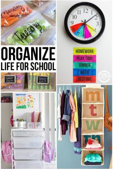 Organizing Life for School