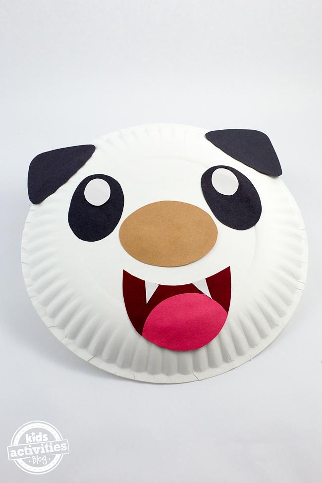 Paper Plate Oshawott Craft