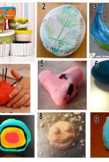 Dozen Playdough Recipes and Ideas for Play