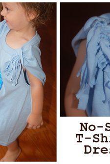 Make a T-Shirt Dress