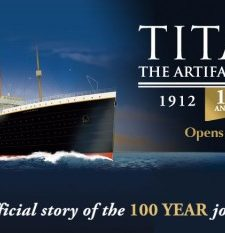 Titanic Exhibit at Fort Worth Museum of Science & History