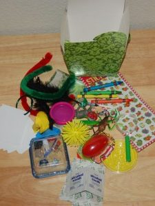 Fun Activity Box:  Entertain your Preschoolers for Hours!